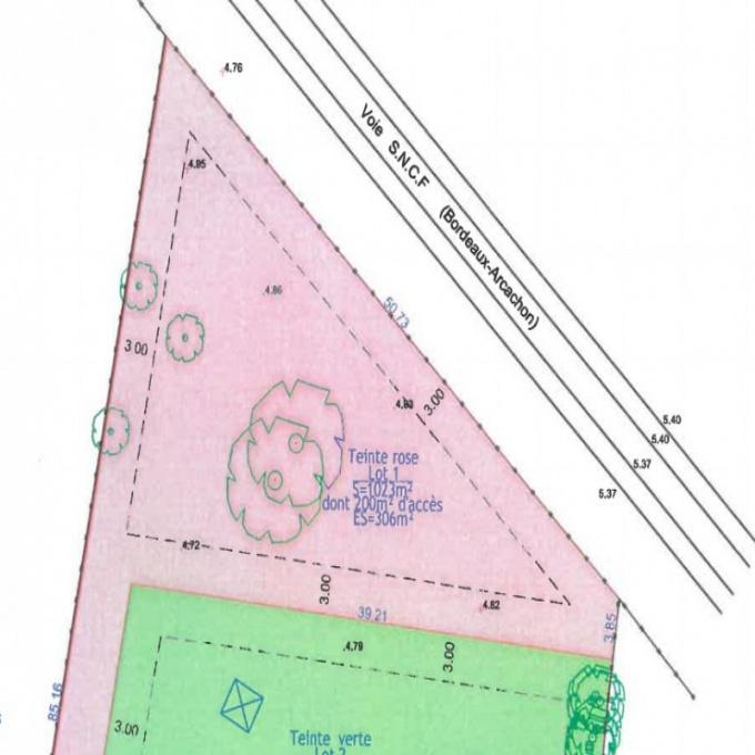 Offres de vente Terrain Le Teich (33470)